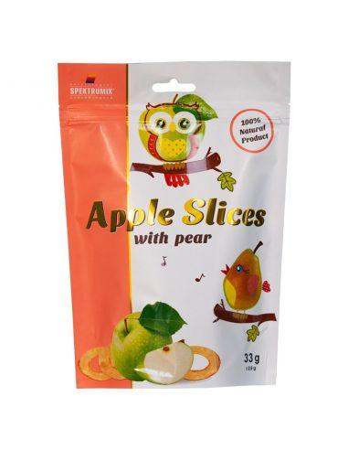 Слайси яблучні з грушею, новинка, Spektrumix, 33г