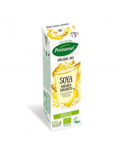 Молоко соєве з бананом, Provamel, Bio, 250мл