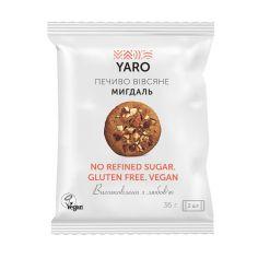 Печиво Вівсяне Мигдаль, Yaro, 36г