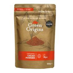 Какао-порошок органічний, Green Origins, 90г