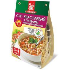 Суп квасолевий з грибами, Сто Пудов, 120г