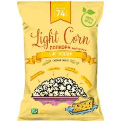 Попкорн сир чеддер, Light Corn, 20г