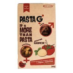 "Макаронні вироби сир, томат, базиік ""Fusilli"", Healthy & Delicious, 240г"