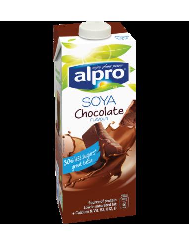 Молоко соєве шоколадне, Alpro, 1000мл