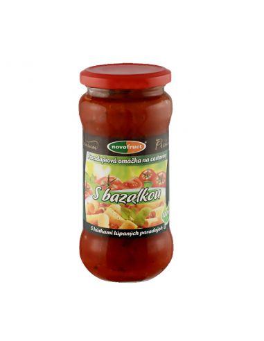 Соус томатний з Базиліком Novofruct, OVKO, 350г