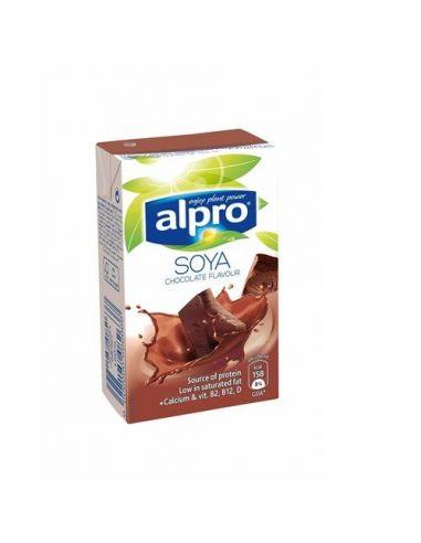 Молоко соєве шоколадне, Alpro, 250мл