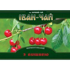 Іван чай ферментований з вишнею, м`як. упак., Зоряний Гай, 100г