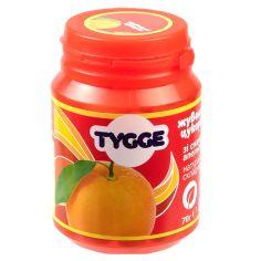 Цукерки жувальні зі смаком Апельсину, Tygge, 70г