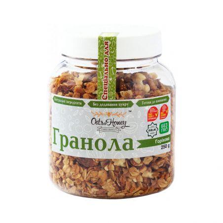 Гранола горіхова, O&H, 250г