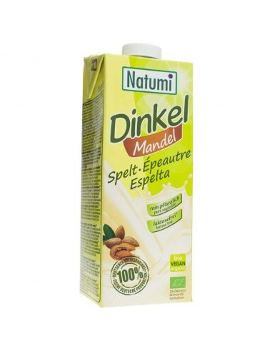 Молоко спельтовое с миндалем, Natumi,1000мл