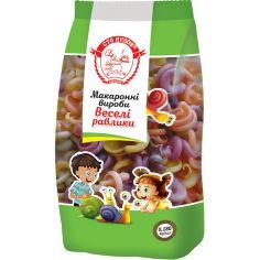 """Макарони """"Веселі равлики"""", Сто Пудов, 180г"""