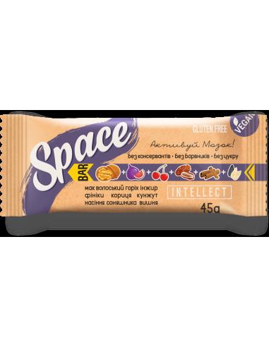 """Батончик горіхово-фруктовий """"інтелект"""" Space Bar, 45г"""