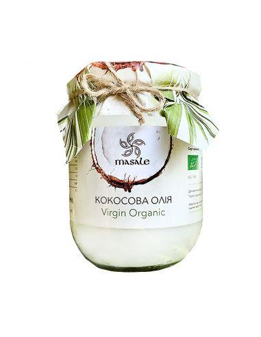 Масло кокосове, Masale, б.стекло, Virgin Organic, 900мл