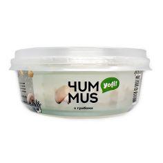 """Хумус, закуска середземноморська з грибами, ТМ """"Yofi"""", 250г"""