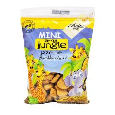 """Печиво пшеничне """"Mini Zoo"""", Bio Ania, 100г."""