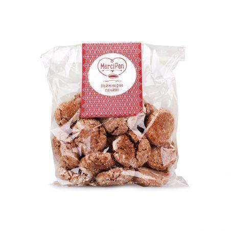 Печиво шоколадне (веганське), MerciPan, 190гр.