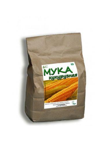 Мука кукурузная, Органик Эко Продукт, 1кг