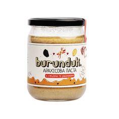 Паста арахісова з родзинками та спеціями, БУРУНДУК, 450г
