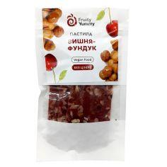 Пастила вишня-фундук, Fruity Yummy, 40г