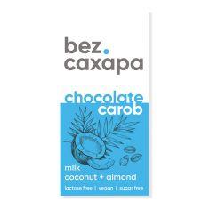 Шоколад молочний Мигдаль Кокос, bez.сахара, 90г