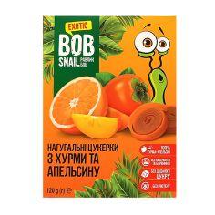 Натуральні цукерки з хурми та Апельсину bob snail (Равлик Боб), 120г