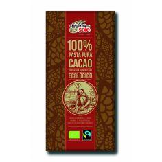 Шоколад темний 100% какао, Sole, 100г.