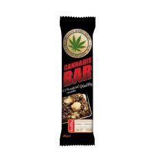 Батончик мюслі з фундуком + насіння канабісу, Cannabis Bar, 40г