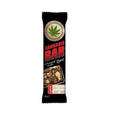 Батончик мюслі з волоським горіхом + насіння канабісу, Cannabis Bar, 40г