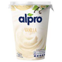 Йогурт соєвий ваніль, Alpro, 500г.