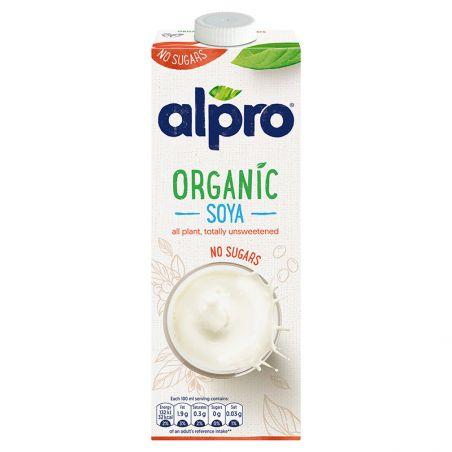 Молоко соєве без цукру, Alpro, 1000мл