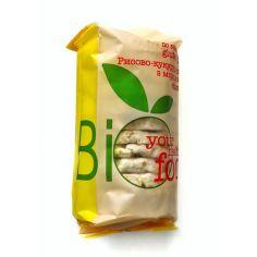 Хлібці рисово-кукурудзяні з морскою сіллю, Biofood, 100г