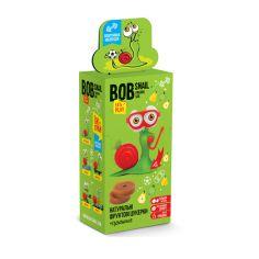 Натуральні яблучно-грушеві цукерки та іграшка bob snail (Равлик Боб), 20г