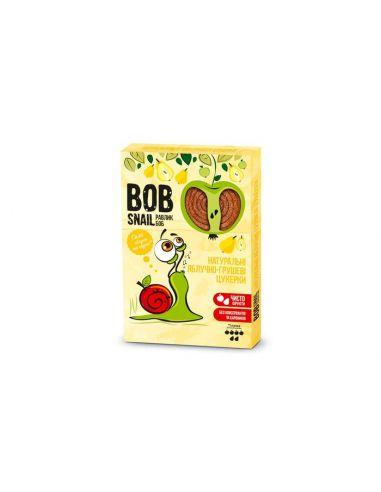 Натуральні яблучно-грушеві цукерки bob snail (Равлик Боб), 120г