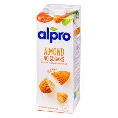 Молоко мигдальне без цукру, Alpro, 1000мл