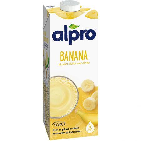 Молоко соєве бананове, Alpro, 1000мл
