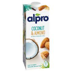 Молоко мигдальне - кокосове, Alpro, 1000мл