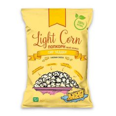 Попкорн сир чеддер, Light Corn, 60г