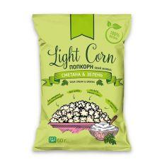 Попкорн сметана & зелень, Light Corn, 60г