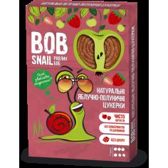 Натуральні яблучно-полуничні цукерки bob snail (Равлик Боб), 60г