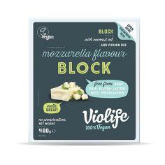 Сир твердий моцарелла для піцци блок, Violife, 400г