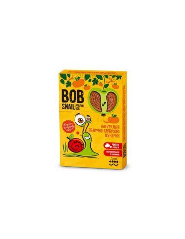 Натуральні яблучно-гарбузові цукерки bob snail (Равлик Боб), 120г