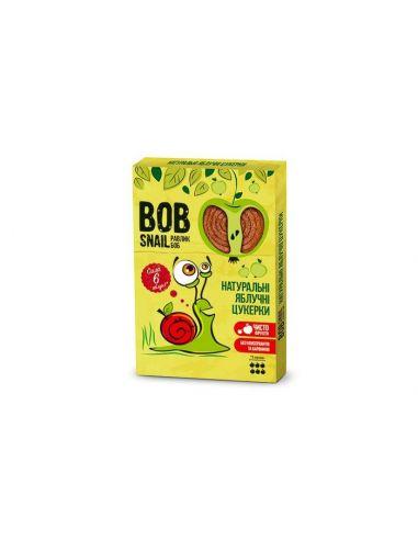 Натуральные яблочные конфеты bob snail (Равлик Боб), 60г