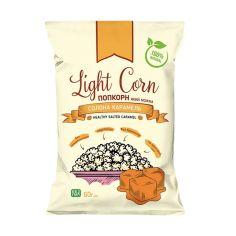 Попкорн корисна солона карамель, Light Corn, 60г