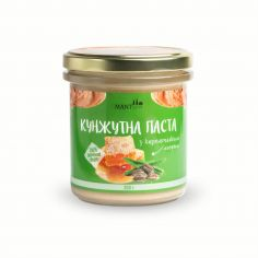 Паста Урбеч з кунжуту з медом, Manteca, СКЛО, 300г