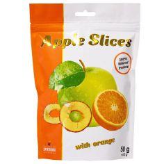 Слайси яблучні з апельсином, Spektrumix, 50г