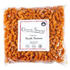Спіральки рисові томатні, Світові Традиції, 500г