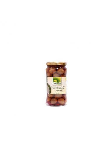 Оливки зеленые органические, 350г.