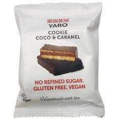Цукерка Coco&Caramel Cookies, Yaro, 50г