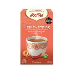 Чай Heartwarming, Yogi Tea, пакет 1,8г
