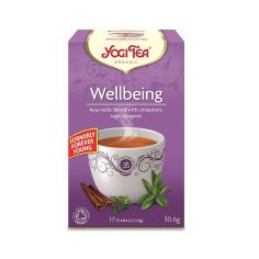 Чай Wellbeing, Yogi Tea, пакет 1,8г